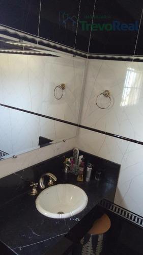 casa residencial à venda, condomínio reserva dos vinhedos, louveira. - ca1017