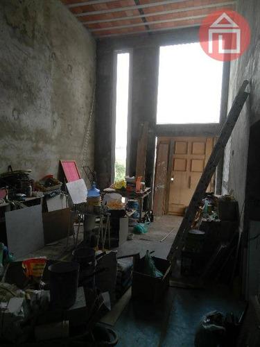 casa residencial à venda, condomínio residencial campos do conde, bragança paulista. - ca1706