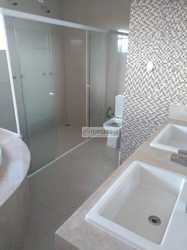 casa residencial à venda, condomínio residencial jaguary, são josé dos campos. - ca1366