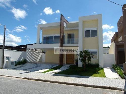 casa residencial à venda, condomínio residencial montserrat, são josé dos campos. - ca0949