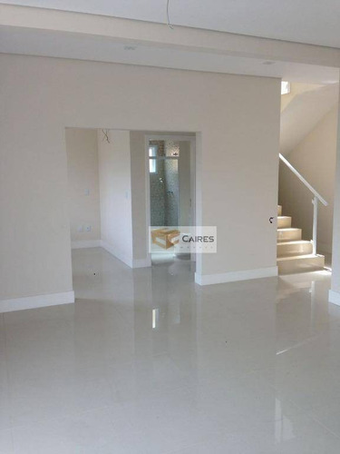 casa  residencial à venda, condomínio residencial morada das nascentes, valinhos. - ca1642