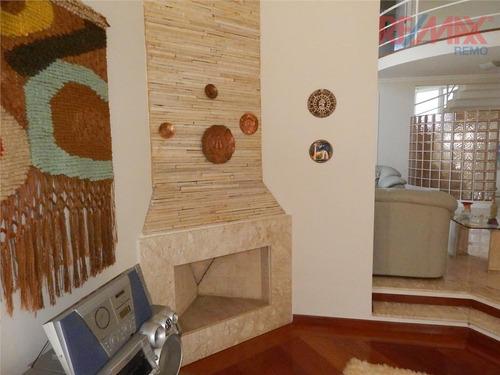 casa residencial à venda, condomínio residencial oruam, valinhos - ca4190. - ca4190