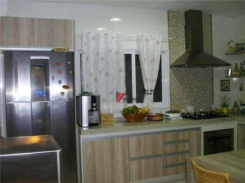 casa residencial à venda, condomínio residencial pedra grande, atibaia. - ca1214
