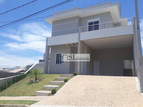 casa residencial à venda, condomínio residencial portal do jequitiba , valinhos. - ca0242