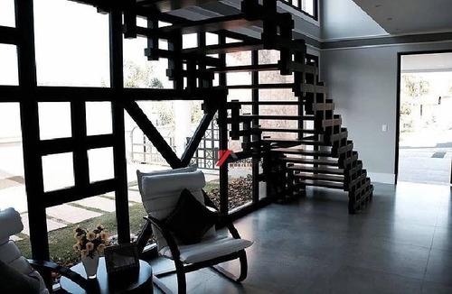 casa residencial à venda, condomínio residencial shamballa ii, atibaia. - ca1057
