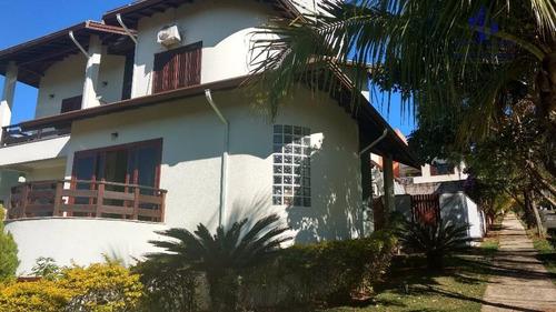 casa residencial à venda, condomínio residencial terras do caribe, valinhos. - ca1602