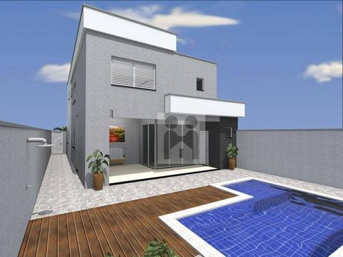 casa residencial à venda, condomínio san marco- ilha savóia, bonfim paulista. - ca0224