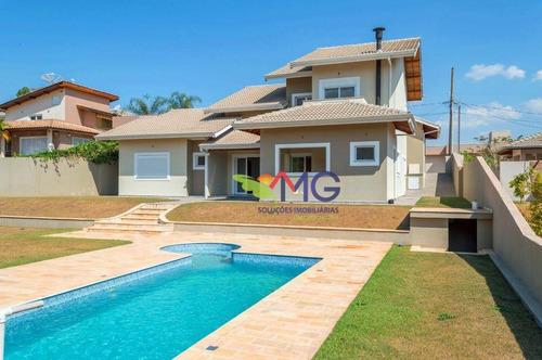 casa residencial à venda, condomínio serra da estrela, atibaia. - ca0155