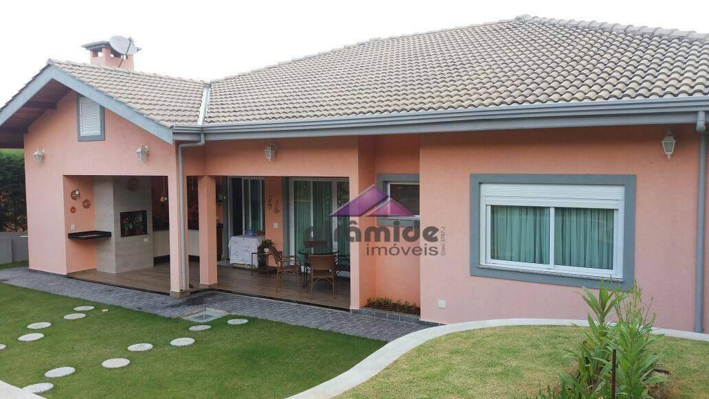 casa residencial à venda, condomínio serra da estrela, atibaia. - ca3462