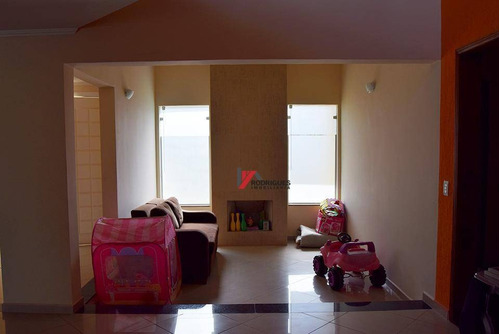 casa residencial à venda, condomínio shambala i, atibaia. - ca1181