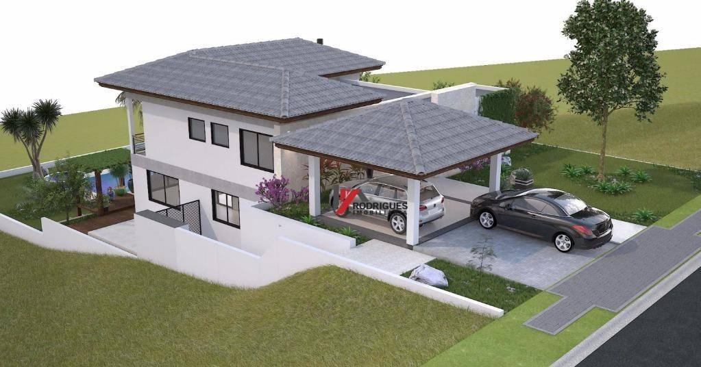 casa residencial à venda, condomínio shambala iii, atibaia - ca0918. - ca0918