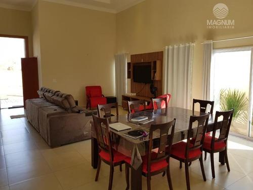 casa residencial à venda, condomínio terra vista, mirassol. - ca1246
