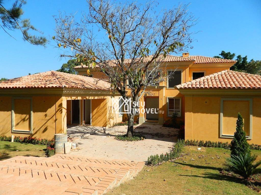 casa residencial à venda, condomínio terras de são josé, itu. - ca0018