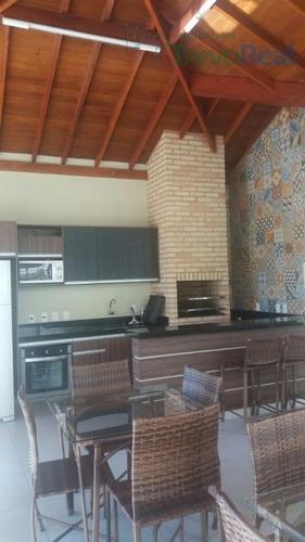 casa residencial à venda, condomínio vila santa rosa, valinhos. - ca0944
