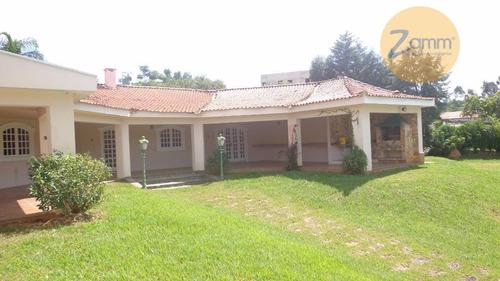 casa residencial à venda, condomínio village sans souci, valinhos - ca1193. - ca1193