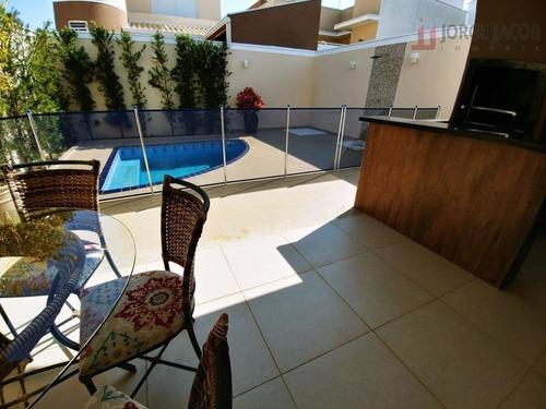 casa residencial à venda, condomínio villagio milano, sorocaba - ca1593. - ca1593