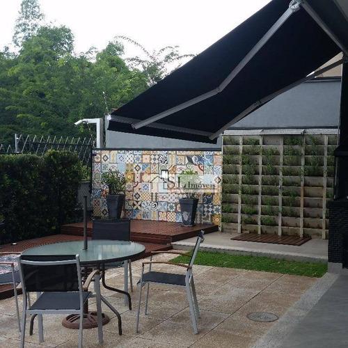 casa residencial à venda, condomínio vivenda das cerejeiras, valinhos. - ca0237