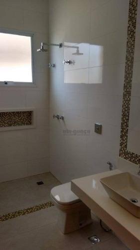 casa residencial à venda, condomínio xapada parque ytu, itu. - ca4138