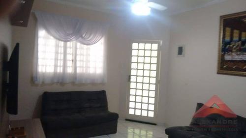 casa residencial à venda, conjunto residencial galo branco, são josé dos campos. - ca3974