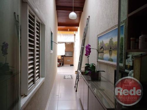 casa residencial à venda, conjunto residencial galo branco, são josé dos campos. - ca3989