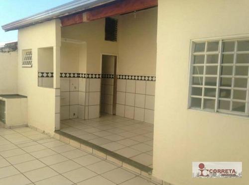 casa residencial à venda, conjunto residencial luiz egydio de cerqueira césar, marília. - ca0498