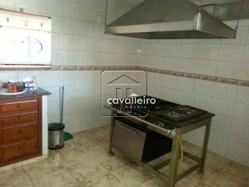 casa residencial à venda, cordeirinho (ponta negra), maricá - ca0960. - ca0960
