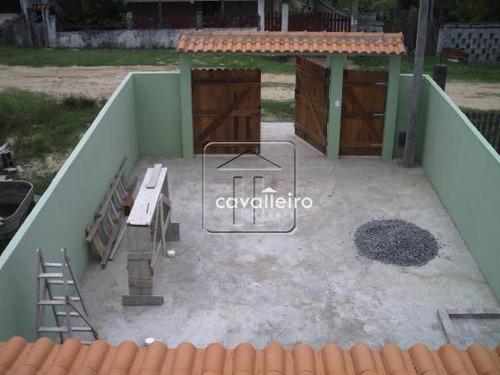 casa residencial à venda, cordeirinho (ponta negra), maricá - ca1434. - ca1434