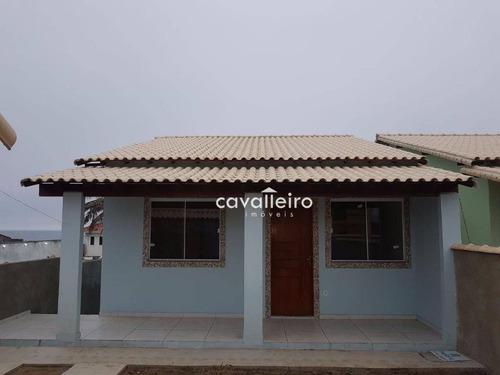 casa residencial à venda, cordeirinho (ponta negra), maricá. - ca2453
