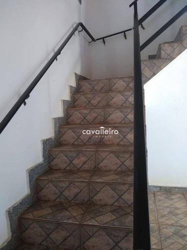 casa residencial à venda, cordeirinho (ponta negra), maricá. - ca3057