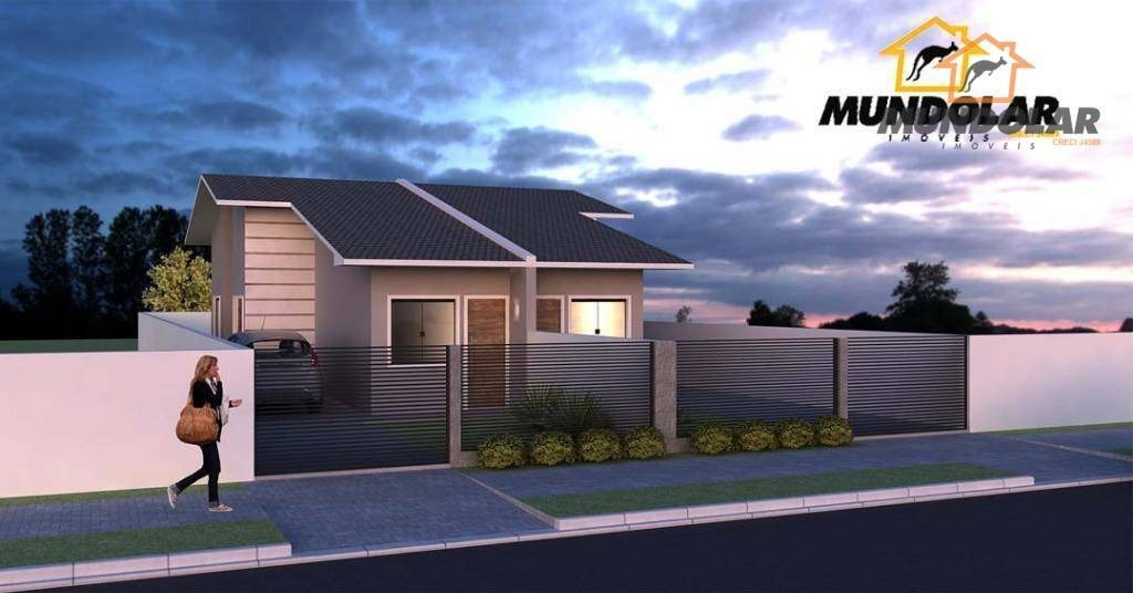 casa residencial à venda, costeira, araucária - ca1387. - ca1387