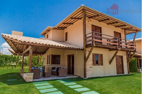 casa residencial à venda, cumbuco, caucaia. - ca0370