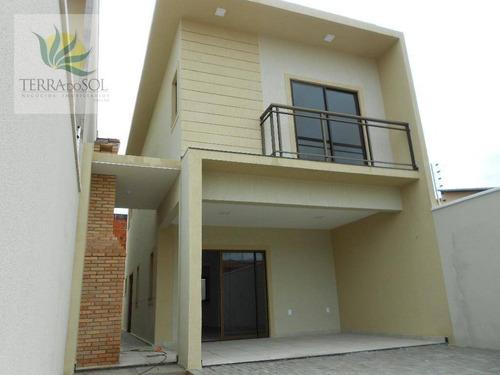 casa residencial à venda, edson queiroz, fortaleza. - ca0795