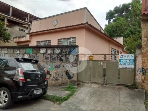 casa residencial à venda, em terreno de 761 m² - mutondo, são gonçalo. - ca1339