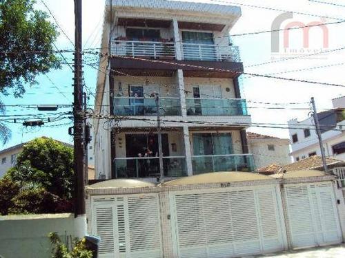 casa residencial à venda, embaré, santos. - codigo: ca0182 - ca0182