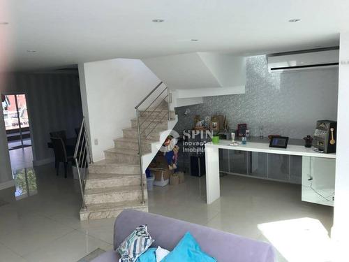casa residencial à venda, engenho do mato, niterói. - ca0255