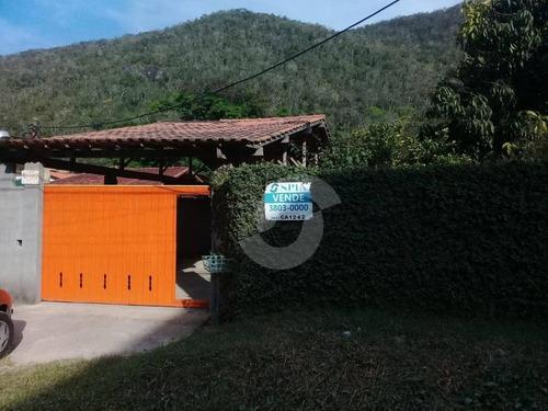 casa residencial à venda, engenho do mato, niterói - ca1242. - ca1242
