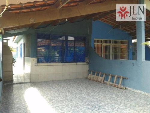 casa residencial à venda, estância balneária tupy, itanhaém. - ca0258