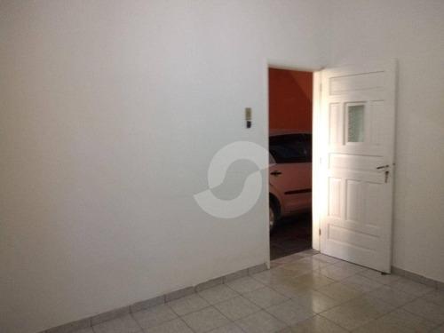 casa residencial à venda, fátima, niterói. - ca1072