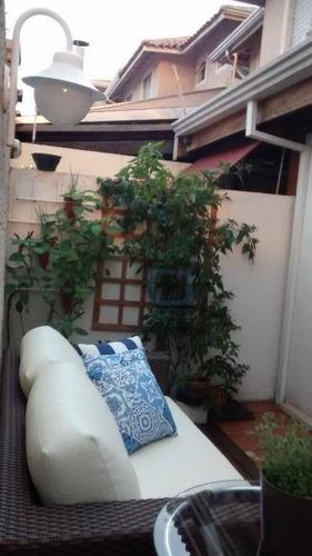 casa residencial à venda, fazenda santa cândida, campinas. - ca0032