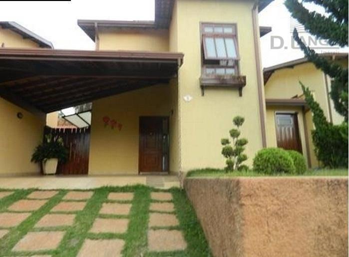 casa residencial à venda, fazenda santa cândida, campinas - ca6006. - ca6006