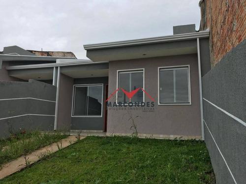 casa residencial à venda, gralha azul, fazenda rio grande. - ca0129
