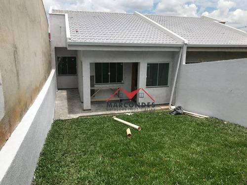 casa residencial à venda, gralha azul, fazenda rio grande. - ca0138