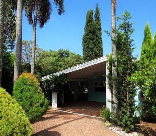 casa residencial à venda, gramado, campinas. - ca0137