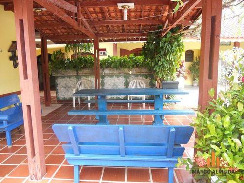 casa residencial à venda, grandesp, itanhaém. - ca0098
