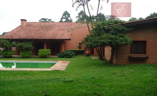 casa  residencial à venda, granja viana, cotia. - ca0246