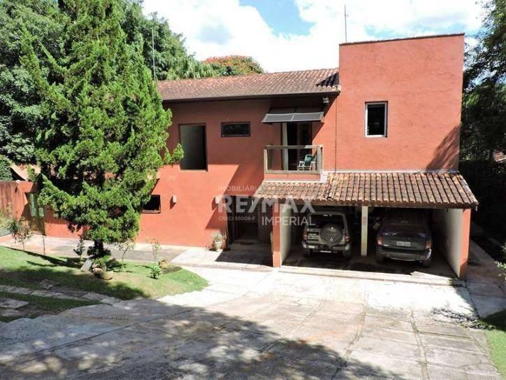 casa residencial à venda, granja viana, cotia. - ca3515