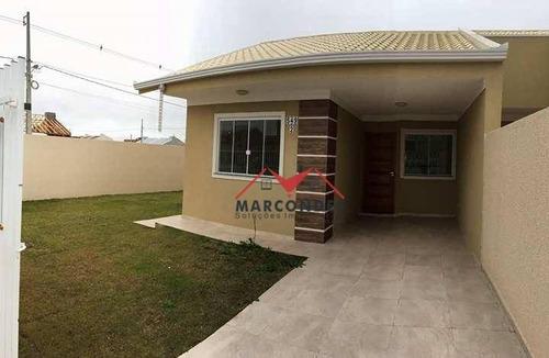 casa residencial à venda, green field, fazenda rio grande. - ca0076