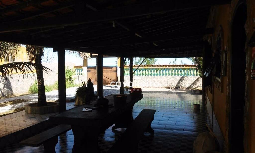 casa residencial à venda, guaratiba (ponta negra), maricá. - ca2438
