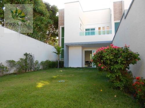 casa residencial à venda, guaribas, eusébio. - ca0793