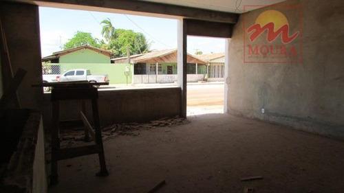 casa residencial à venda, infraero ii, macapá. - ca0270